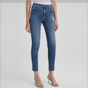 AG ADRIANO GOLDSCHMEID | 27 High Rise Jeans Crop